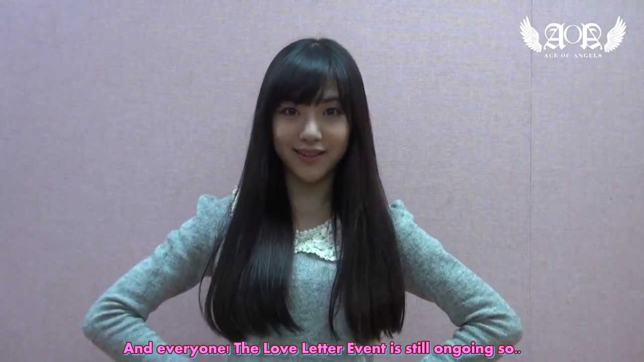 Eng Sub Aoa Love Letter Event By Mina - Youtube-5471
