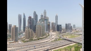 Deluxe Penthouse Offering Striking Dubai Marina Views