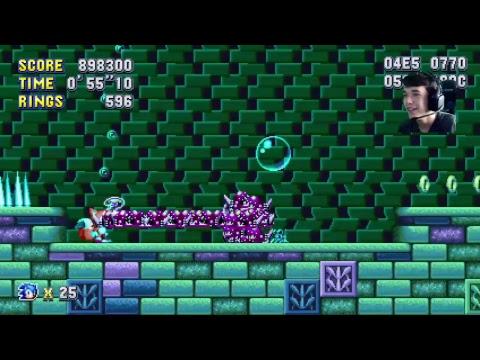 Sonic Mania Blue Sphere Grinding!