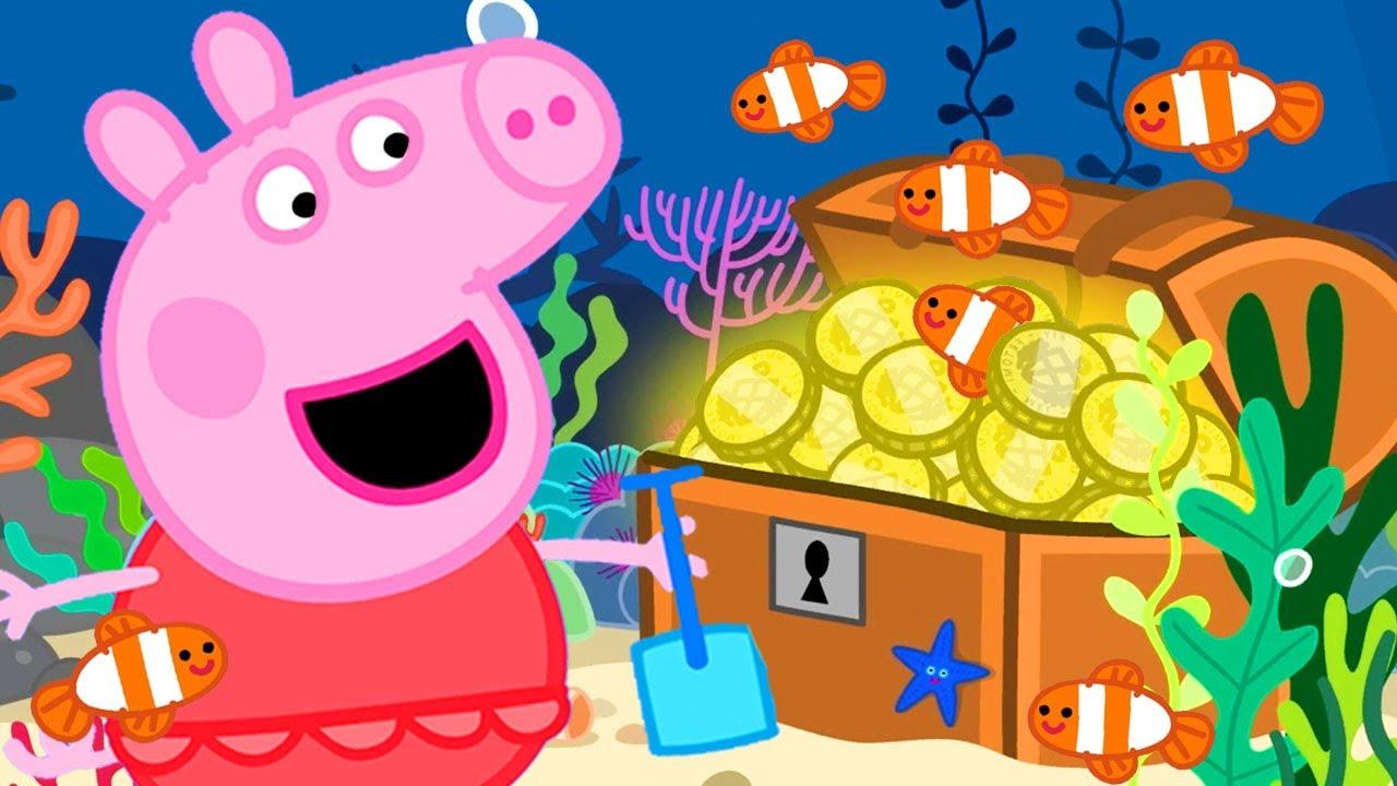 Peppa Pig Português Brasil | A Grande Barreira de recife. | Desenhos Animados
