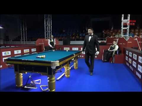 Brian T Saleh VS Chris Melling - Men - 2017 Chinese Billiards World Championship