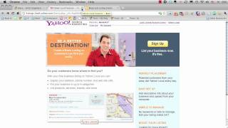 Adding Your Business to Yahoo Maps