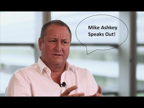 Mike Ashley Speaks Out About Money and Rafa Benitez's Future