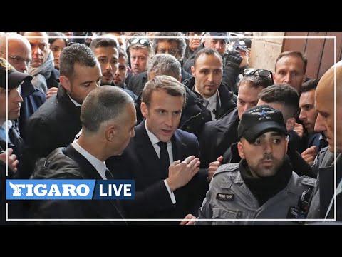 🔴ALTERCATION entre Macron