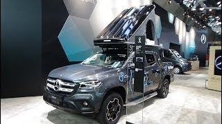 2019 Mercedes-Benz X 350 d 4Matic Progressive - Ext. + Interior - Caravan Show CMT Stuttgart 2019