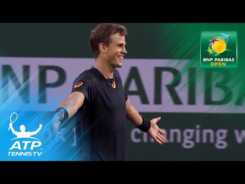 Pospisil shocks Murray | Indian Wells 2017 Highlights Day 3