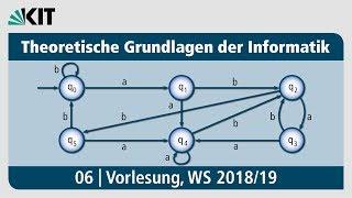 06: Theoretische Grundlagen der Informatik, Vorlesung, WS 2018/19