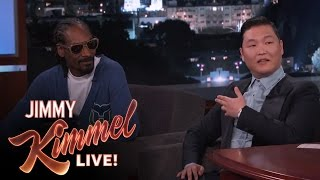 psy snoop on working together