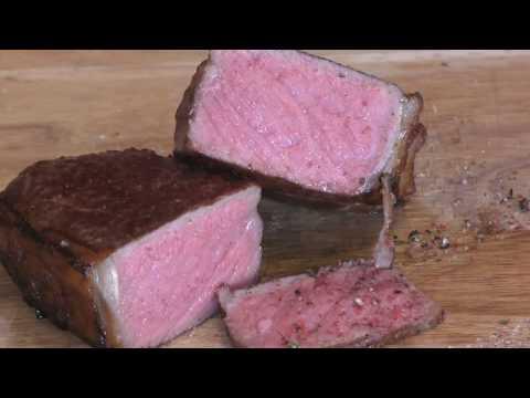 Dryaged Roastbeef Steak Sous Vide und O.F.B.   195