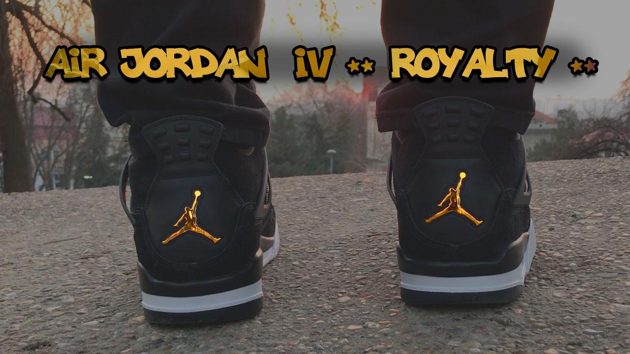 low priced f0411 13bcb ... IV 4 ROYALTY ON FEET OUTFIT  Air Jordan 4 Retro ...
