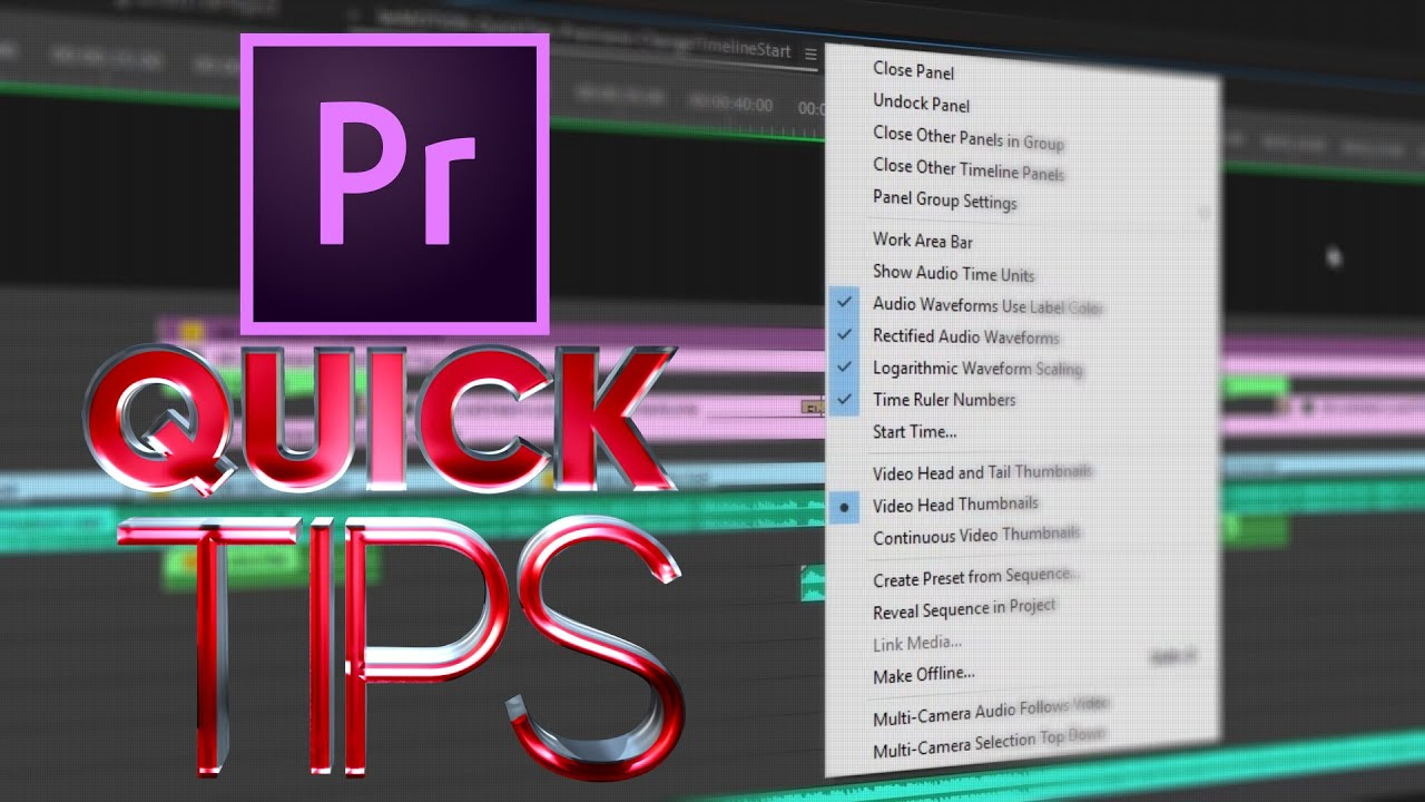 How To Change Your Sequence Start Time in Adobe Premiere
