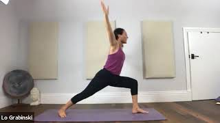 Vinyasa Strong Letting Go of Fear- Inversions