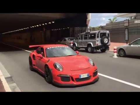 Porsche GT3 RS in Monaco Monte Carlo Yacht Club