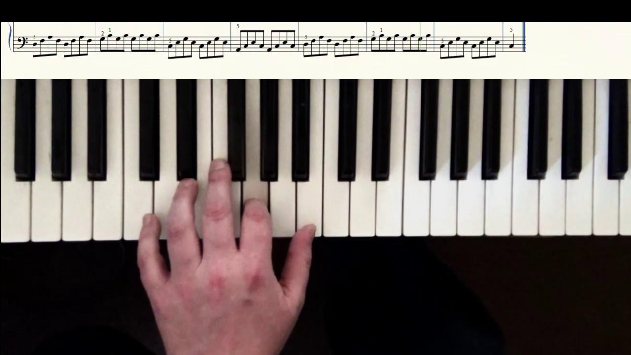 lektion 13 klavier spielen lernen f r anf nger ein. Black Bedroom Furniture Sets. Home Design Ideas