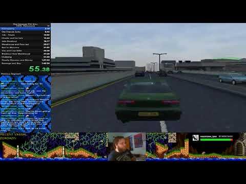The Getaway Speedrun Hammond Story 1:30.11 PB