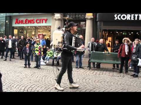 Street Concert in Malmo, Sweden - Nov 2011 - Part One