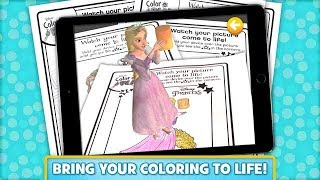 Disney Color and Play Coloring Books Full android gameplay