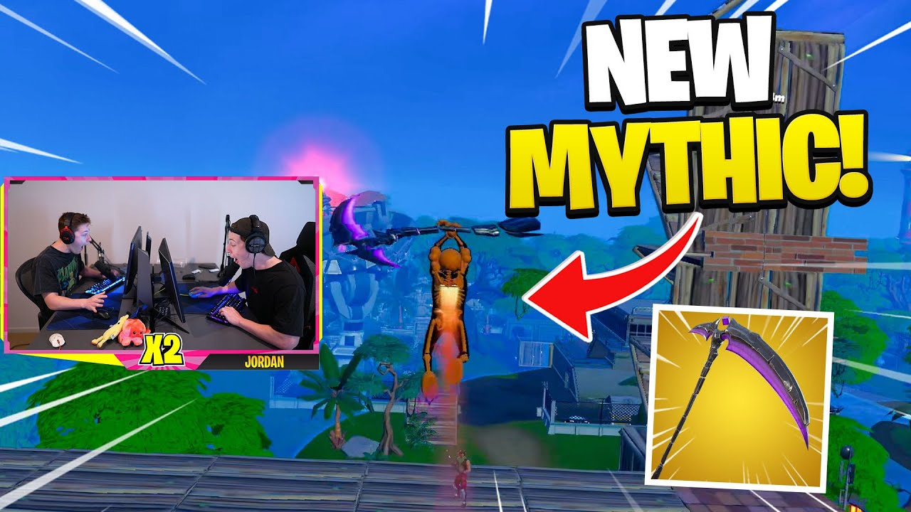 fortnites NEWEST weapon is OP!