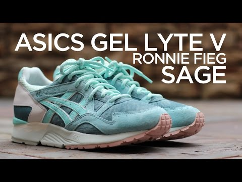 asics gel lyte v x kith rose gold