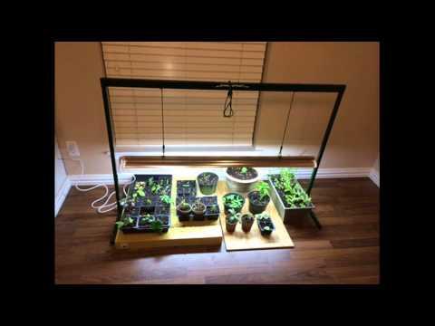 Jsv4 4 Foot Jump Start T5 Grow Light System Plant Growing