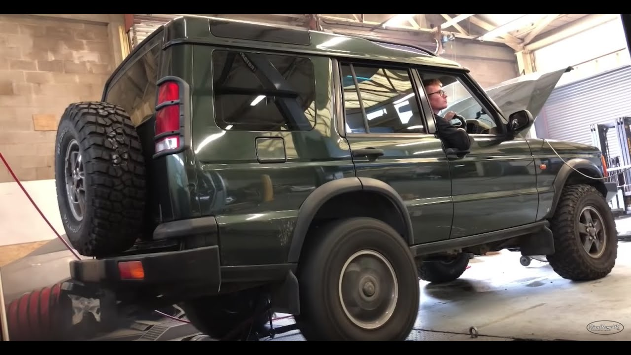 Racing a OM605 disco on the dyno