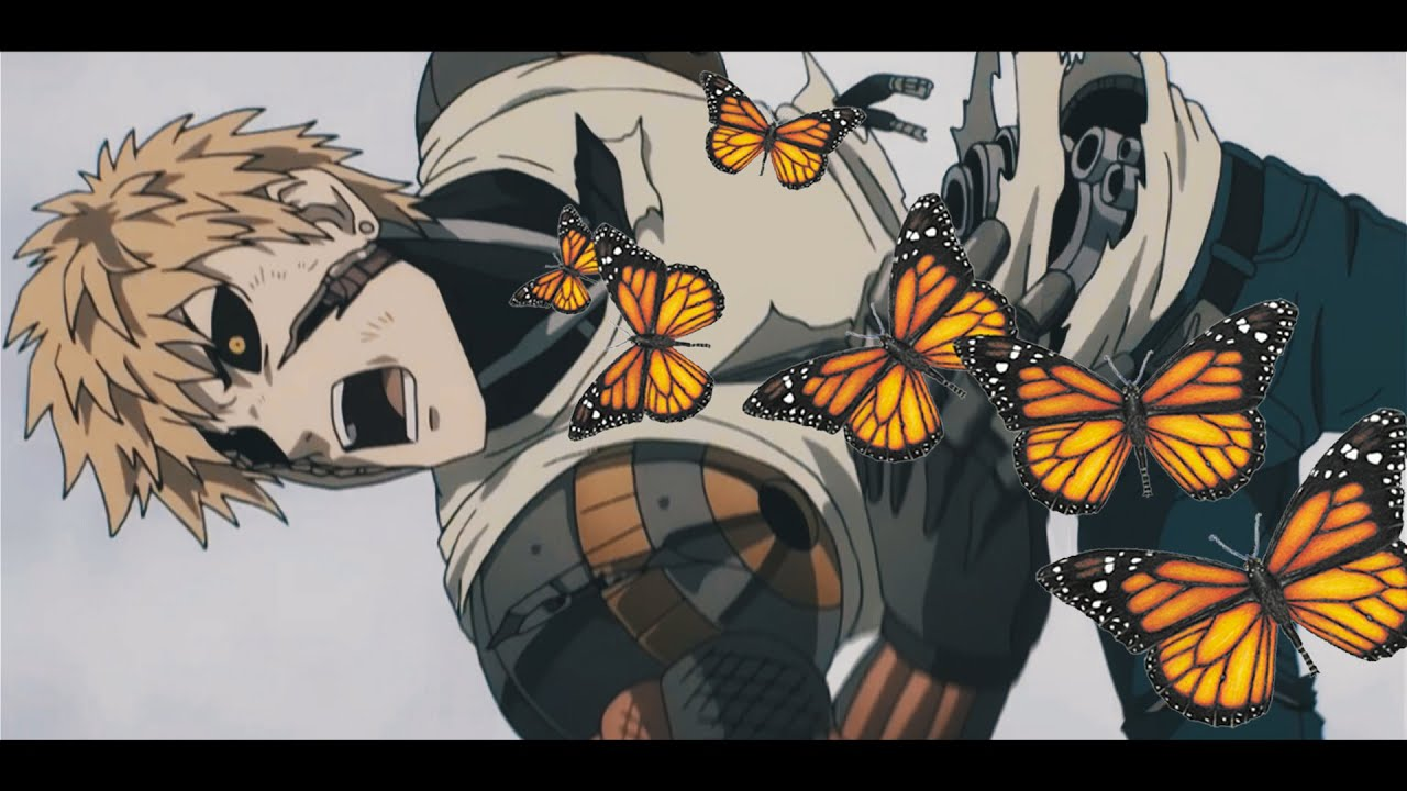 Anime Man With Butterfly Meme