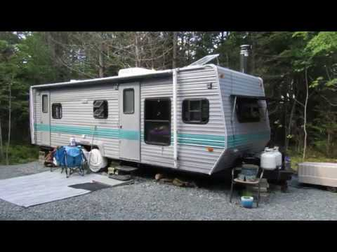 Canadian Chick Full Time In Off-Grid Camper