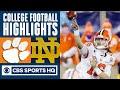 2020 SCC Championship:  #3 Clemson vs #2 Notre Dame | CBS Sports HQ