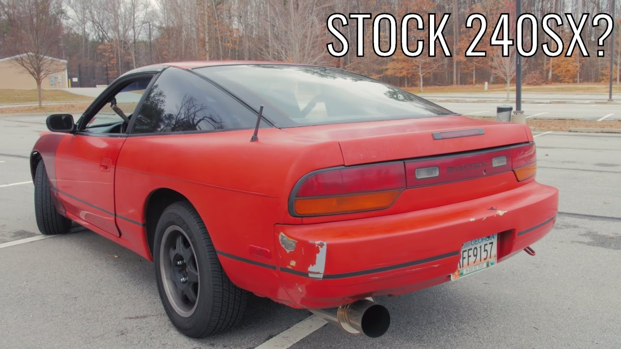 Does a Stock Nissan 240sx Suck?