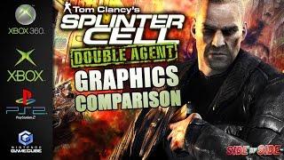 Splinter Cell Double Agent  Graphics Comparison   Xbox360  Xbox  Gamecube  Ps2