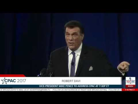 Robert Davi FULL SPEECH- CPAC 2017