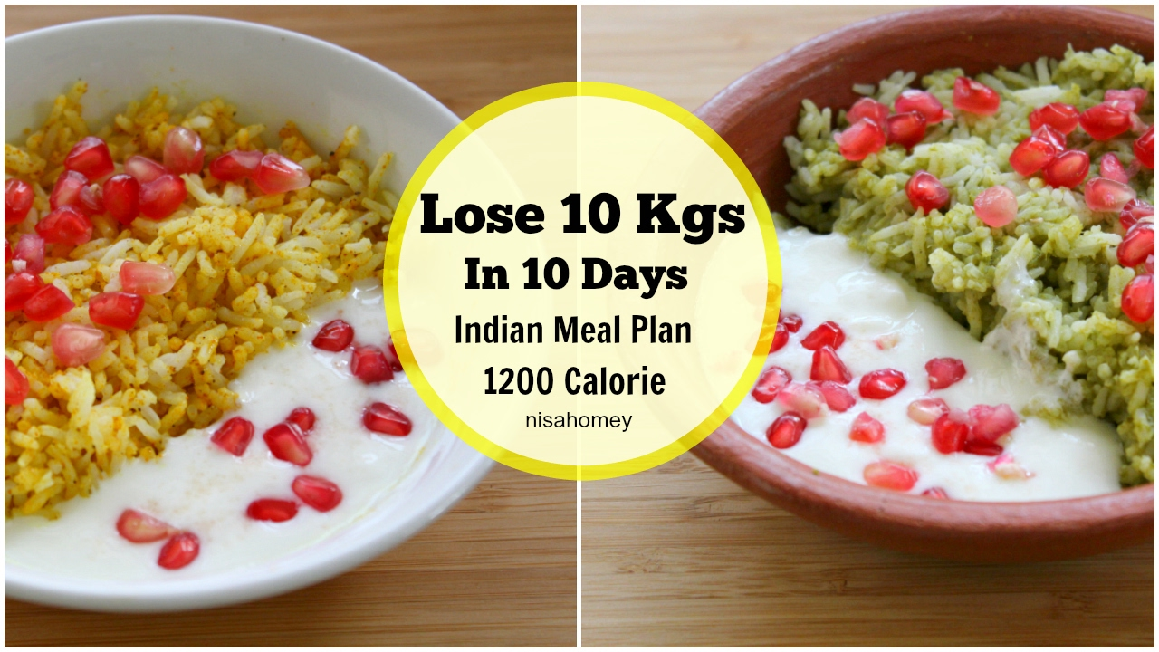 Try This 1200 Calorie Indian Weight Loss Meal Plan
