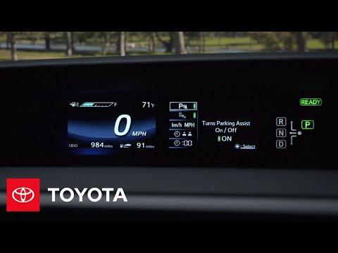 The Toyota Mirai l Instrument Cluster   Toyota