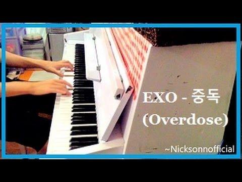 #EXO 엑소 - 중독 Overdose [Full Piano Cover] (HD)