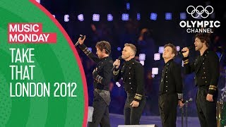 Take That - London 2012 Performance