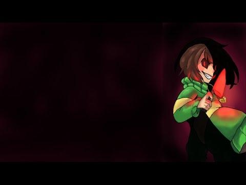 Chara's Glitchtale Battle Theme -Lyric Video-
