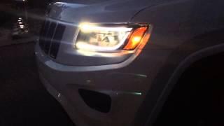 Eagle Eyes LED headlights on WK2 Jeep Grand Cherokee 2014 2015 Revotec