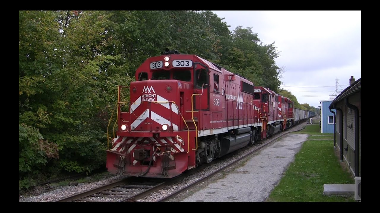 Trains Of Vermont  New England Central  Vermont Rail