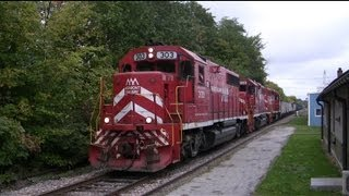 Trains of Vermont: New England Central, Vermont Rail System, and Amtrak
