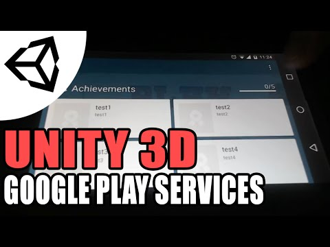 Google Play Services (Achievement,Leaderboard,AdMob,Cloud save)  - Unity 3D [Tutorial][C#]