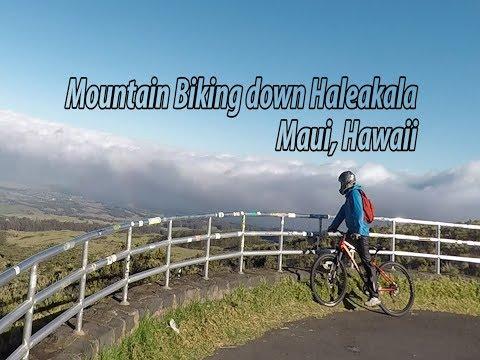 Built to Explore Episode 8: Maui, Hawaii   Mountain Biking down a Volcano