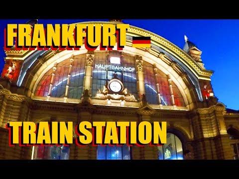Frankfurt Nightlife In The Red Light District