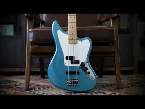 Fender Player Series Jaguar Bass - Demo and Features