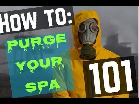 How To Purge Your Hot Tub or Spa