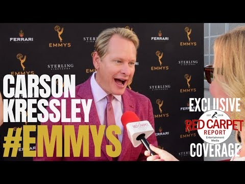 Carson Kressley, RuPaul's Drag Race interviewed at #Emmys Performers Nominee Reception