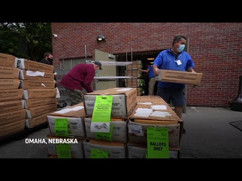 Nebraska readies to send mail-in ballots to voters