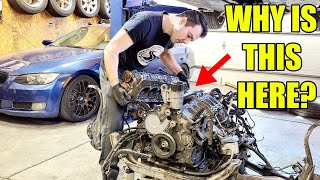 Looking Inside A Twin-Turbo Mercedes V12 Engine & Finding The $1 Part That Costs $10,000 To Replace!