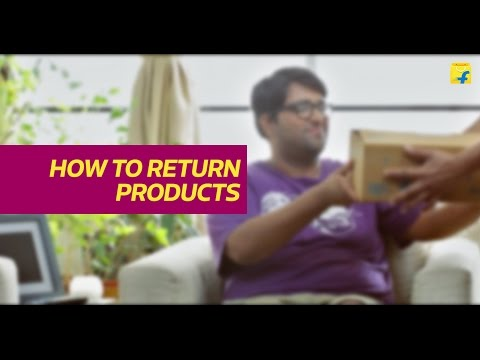 Flipkart How to return products