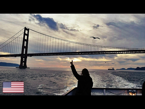 🇺🇸 GOLDEN GATE BRIDGE BOAT TOUR, San Francisco, California, USA Travel Vlog