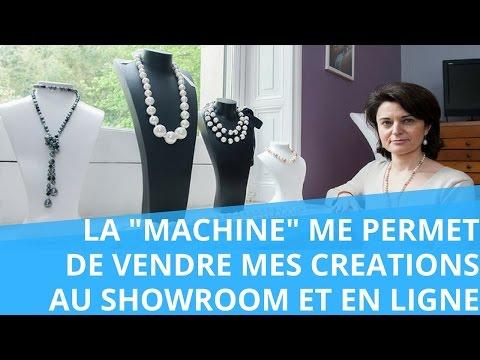 Nathalie : grâce à la Machine, je vends mes créations au showroom et en ligne ! (Etude de Cas)
